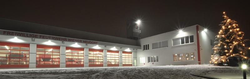 Die Feuerwehr wünscht Frohe Weihnachten